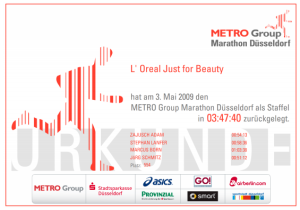 MetroGroupStaffel2009